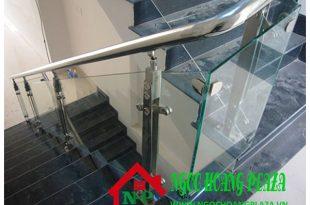 Làm cầu thang kính tại quận 2 TP HCM giá rẻ