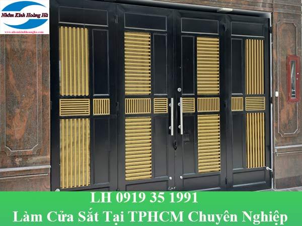 Làm cửa sắt tại TP HCM chuyên nghiệp